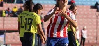 Con 4 de Jessica la Albirroja fem goleó a Colombia