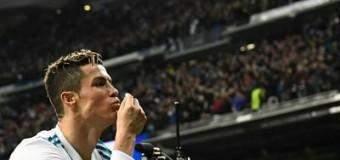 Con doblete de Cristiano remontó el Real Madrid