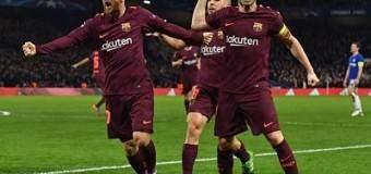 Messi empató al Chelsea