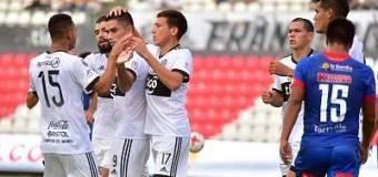 Olimpia estuvo Independiente con el doblete de Montenegro