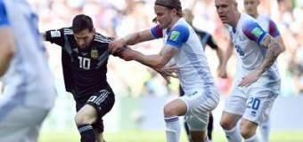 Halldorsson paró penal a Messi y Argentina no pudo con Islandia