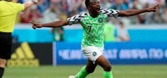 Con doblete de Ahmed Musa Nigería venció a Islandia