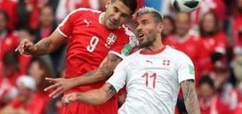 Suiza en gran remontada batió a Serbia