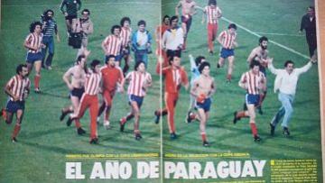 Inolvidable, pasaron 40 años ... Paraguay...
