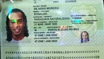 "DETIENEN A RONALDINHO ""PARAGUAYO""..."