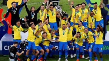 Brasil ganó su Copa América