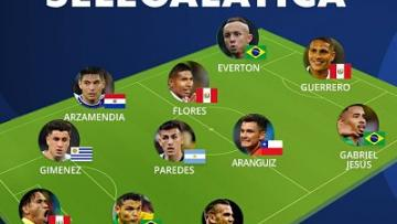 """Arzamendia integra el """"11 Ideal"""" de la Copa..."""